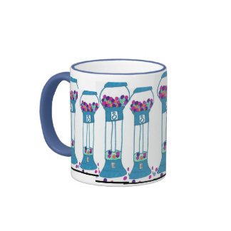 the gumball wizard cup ringer coffee mug