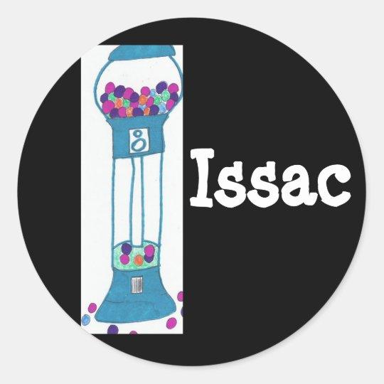 the gumball wizard, Issac Classic Round Sticker