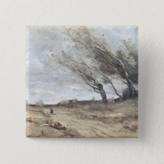 The Gust of Wind, c.1865-70 Button