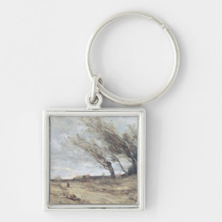 The Gust of Wind, c.1865-70 Keychain