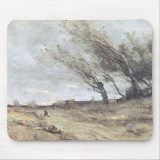 The Gust of Wind, c.1865-70 Mouse Pad