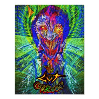 The GuT Circus Akral Apkallah Poster