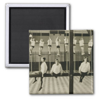 The Gymnasium, London Grammar School for Girls, 19 2 Inch Square Magnet