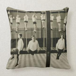 The Gymnasium, London Grammar School for Girls, 19 Throw Pillows