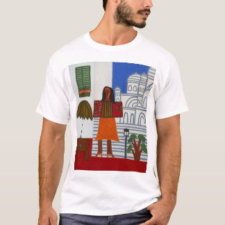 The Gypsy Girl in Front of Sacre Coeur 2006 T-Shirt
