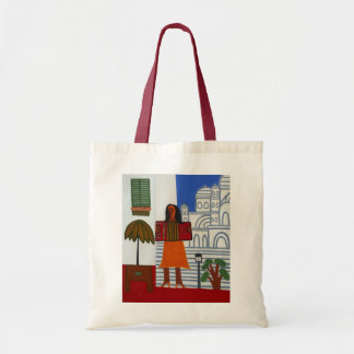 The Gypsy Girl in Front of Sacre Coeur 2006 Tote Bag