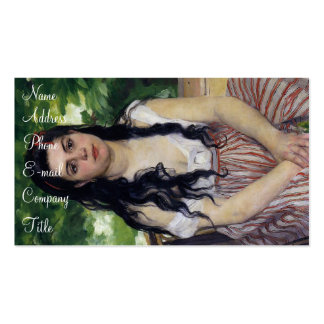 'The Gypsy Girl: Summer' Double-Sided Standard Business Cards (Pack Of 100)