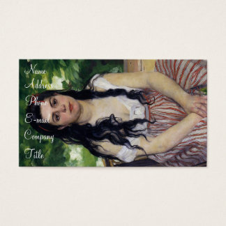 'The Gypsy Girl: Summer' Business Card