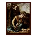 The Gypsy Madonna By Correggio Postcard