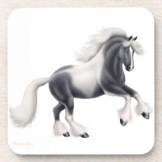 The Gypsy Vanner Horse Cork Coaster