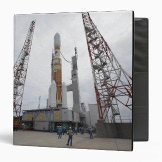 The H-IIB rocket on the launch pad Vinyl Binder