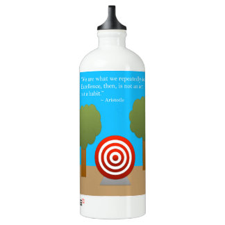 The Habit of Excellence Aluminum Water Bottle