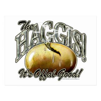 The Haggis! Postcard