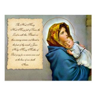 The Hail Mary Postcard