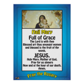 The Hail Mary Poster