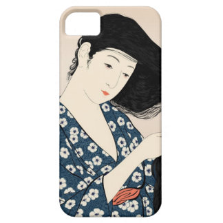 The hair the woman who can be brushed iPhone 5 cover
