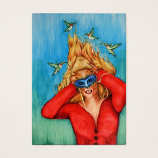The Hairdressers ACEO Art Trading Cards
