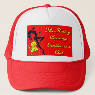 The Hairy Canary hat