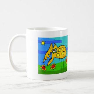 the hairy herbivore. coffee mug