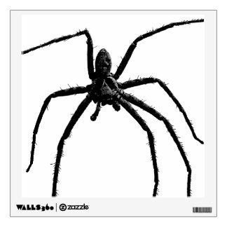 The Hairy Spider Wall Sticker