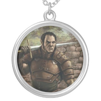 The Half Orc DnD necklace