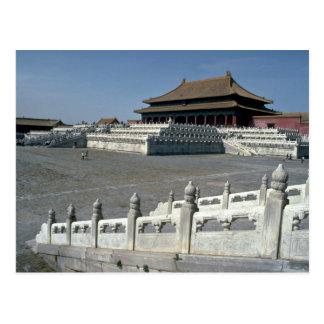 The Hall of Supreme Harmony, Forbidden City, Beiji Postcard