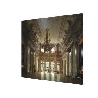 The Hall of the Field Marshal in the Winter Canvas Print