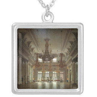 The Hall of the Field Marshal in the Winter Silver Plated Necklace