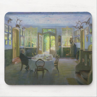 The Hall of the Manor House in Waltershof, 1894 Mouse Pad