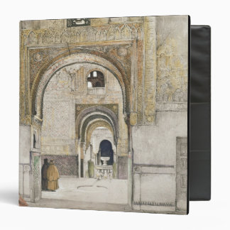 The Hall of the Two Sisters (Sala de las dos Herma 3 Ring Binder