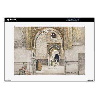 The Hall of the Two Sisters (Sala de las dos Herma Decals For Laptops