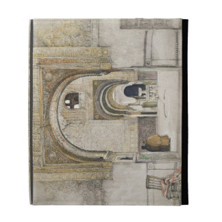 The Hall of the Two Sisters (Sala de las dos Herma iPad Folio Covers