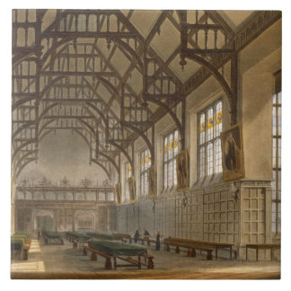 The Hall of Trinity College, Cambridge, from 'The Large Square Tile