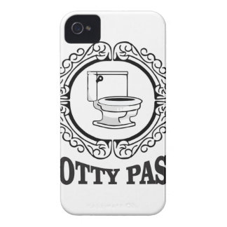 the hall potty pass iPhone 4 Case-Mate case