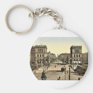 The Halle Gate and Belle Alliance Square, Berlin, Keychains