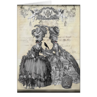 The Halloween Ball Greeting Cards