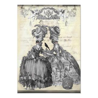 The Halloween Ball 5x7 Paper Invitation Card