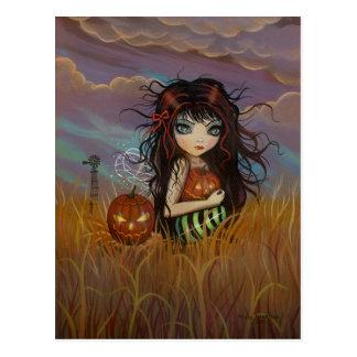The Halloween Fairy Postcard