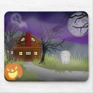 The Halloween Fog - Mouse Pad