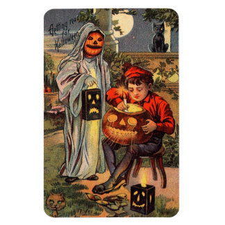 The Halloween Haunting - Vintage Halloween Magnet