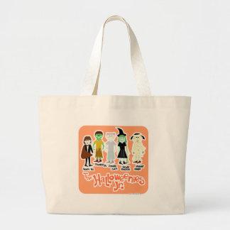 The Halloweenies Jr. Large Tote Bag