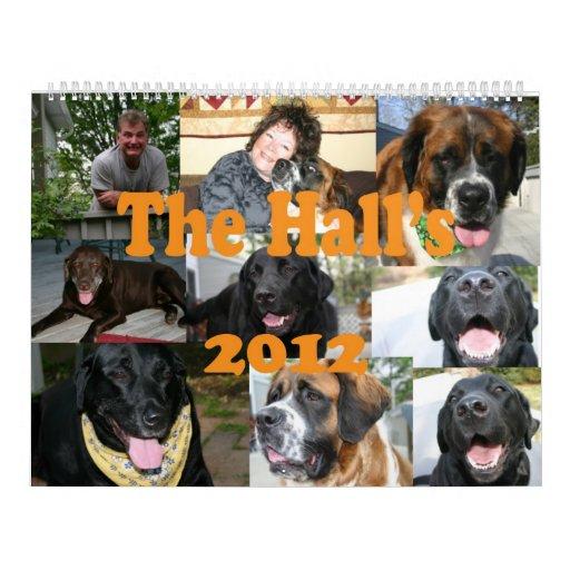 The Hall's 2012 Calendars