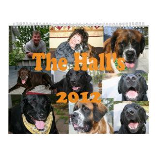 The Hall's 2012 Calendar