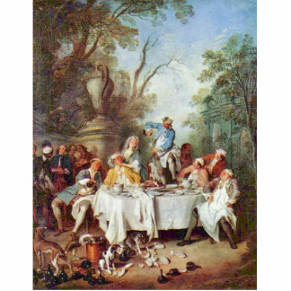 The Ham Breakfast By Lancret Nicolas (Best Quality Photo Cut Out