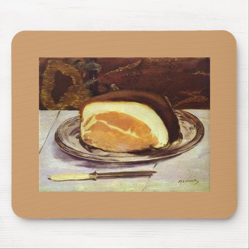 The Ham by Edward Manet Mouse Pad