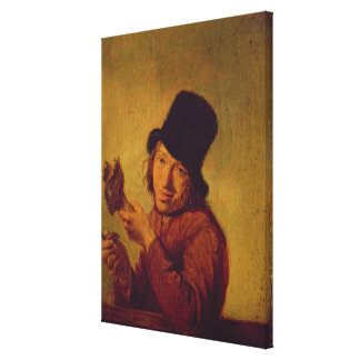 The Ham Eater Canvas Print