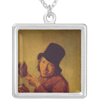 The Ham Eater Silver Plated Necklace