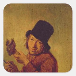 The Ham Eater Square Sticker