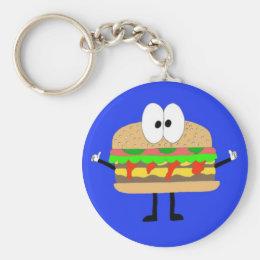 The Hamburger Man doing the Fonzie. Keychain