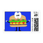 The Hamburger Man doing the Fonzie Stamps
